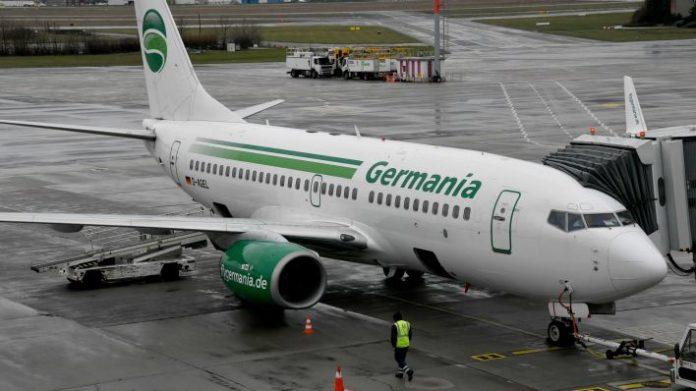 Еще одна немецкая авиакомпания обанкротилась