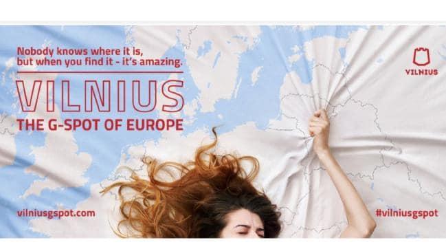 Точка G Европы: Туристическая реклама столицы Литвы становится непристойной