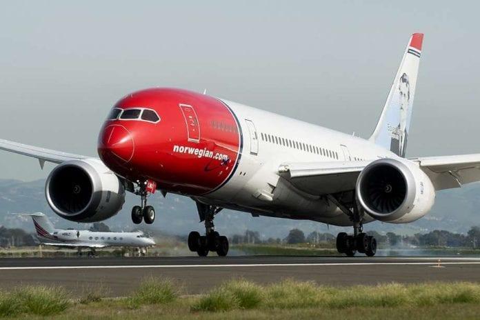 Норвежские авиалинии быстро расширяются