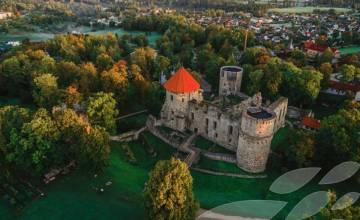 Открытие Цесисского замка средневекового сезона