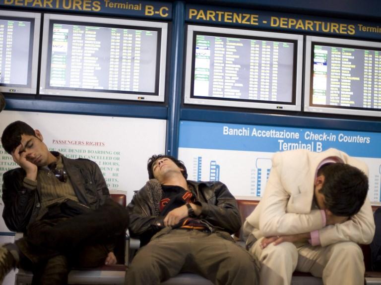 Десятки рейсов отменены из-за забастовки итальянских авиалиний