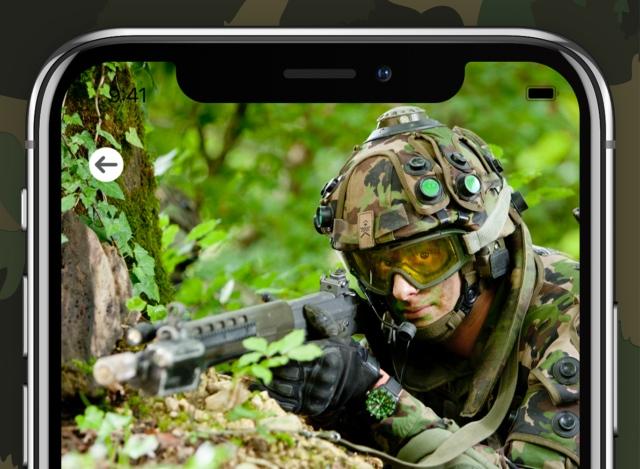 Швейцарская армия запускает фитнес-приложение для новобранцев