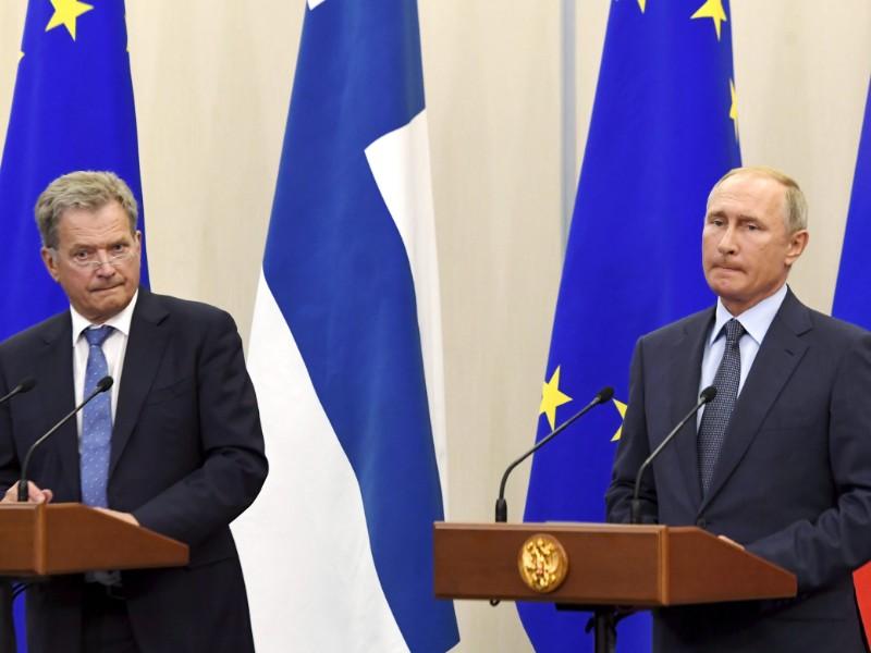 Россия отправляет два отдельных сообщения в Финляндию, говорится в новом докладе