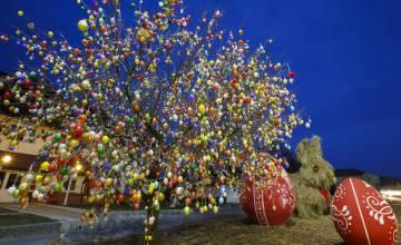Венгерская деревня встречает Пасху 9000 разноцветными яйцами
